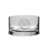 Etched Petite Candy Bowl   5.5x3H
