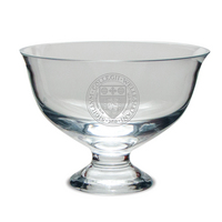 Etched Contemporary Footed Revere Bowl 8.5 x 7H (Online Only)