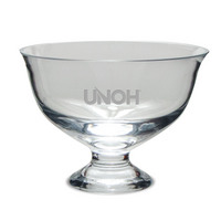 Etched Contemporary Footed Revere Bowl (online only)