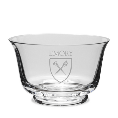 Etched Crystal Revere Bowl 7.5 x 4.75H (Online Only)