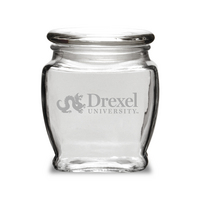 Deep Etched 16 oz Old Fashion Apothecary Jar with Lid (Online Only)