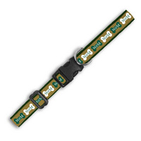 William and Mary Wov In Pet Collar