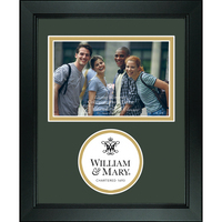 William and Mary Churchill Classics Horizontal Logo Photo Frame
