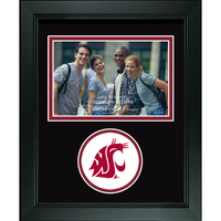 Washington State Cougars Churchill Classics Horizontal Logo Photo Frame