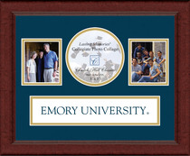 Emory Eagles Churchill Classics Banner Collage Frame