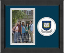 Yale Bulldogs Churchill Classics Vertical Logo Photo Frame
