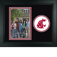 Washington State Cougars Churchill Classics Vertical Logo Photo Frame