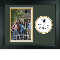 William and Mary Churchill Classics Vertical Logo Photo Frame