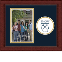 Emory Eagles Churchill Classics Vertical Logo Photo Frame