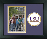 LSU Tigers Churchill Classics Vertical Logo Photo Frame