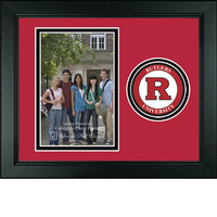Rutgers Scarlet Knights Churchill Classics Vertical Logo Photo Frame