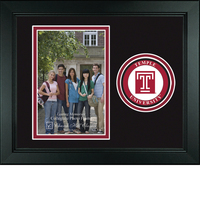 Temple Churchill Classics Vertical Logo Photo Frame