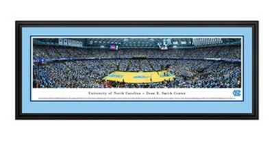 UNC Smith Center Panoramic Deluxe Frame
