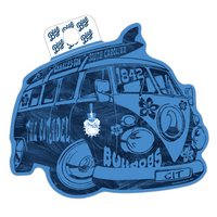 Blue 84 Revamp Bus Sticker