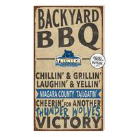Indoor Outdoor BBQ Sign