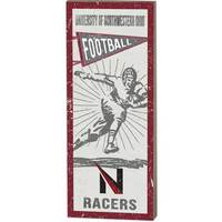 Vintage Player Plaque Football