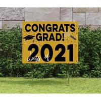 Congrats Grad Yard Sign