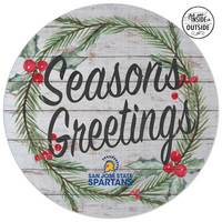 Indoor Outdoor Seasons Greetings