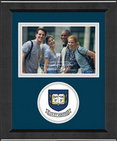 Yale Bulldogs Churchill Classics Horizontal Logo Photo Frame