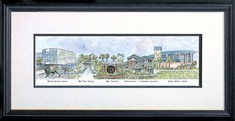11  5 x 24  5  USF Image with Wood Frame