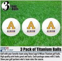 3 Pack Sleeve of golf balls
