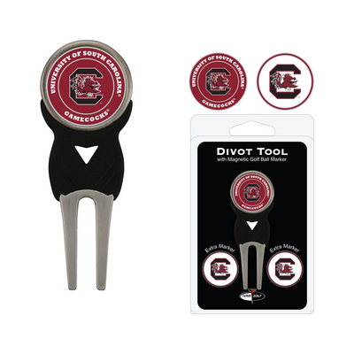Team Golf 3 Marker Signature Divot Tool Pack