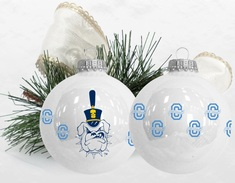 Wraparound Porcelain Ornament