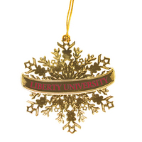 Snowflake Christmas Ornament