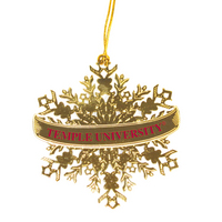 Temple Pewter Wreath Ornament