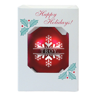 Troy University Shatterproof Ornament