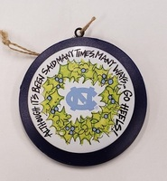 Metal Go Heels Ornament