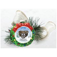 Ornament Wreath Glass