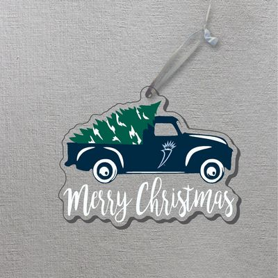 Truck Christmas Ornament