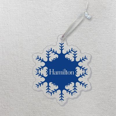 Hamilton Christmas Ornament.Ornament The Hamilton College Bookstore