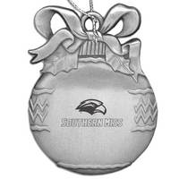 Southern Mississippi Eagles Bulb Shaped Ornament