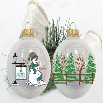 Glitter Tree Wrap Ornament