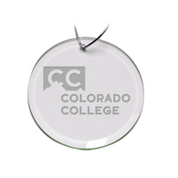 Deep Etched Round Holiday Ornament (online only)