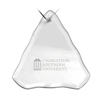 Deep Etched Holiday Tree Shaped Ornament (online only)