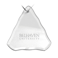 Deep Etched Holiday Tree Shaped Ornament 3.25x3.75H (Online Only)