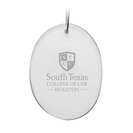Deep Etched Oval Holiday Ornament 2.75x3.75H (Online Only)