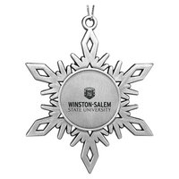Metal Snowflake Shaped Ornament