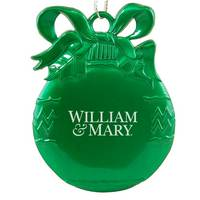 William and Mary Bulb Christmas Ornament