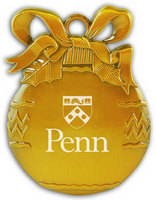 Penn Bulb Christmas Ornament