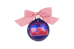 Ole Miss Logo Ornament