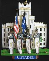 The Citadel Color Guard Ornament