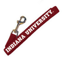 Indiana Hoosiers Wov In Dog Leash