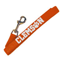 Clemson Tigers Wov In Dog Leash