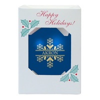 Akron Shatter Proof Ornament
