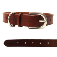 Leather Pet Collar Medium