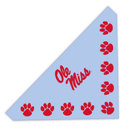 Ole Miss Pet Bandana